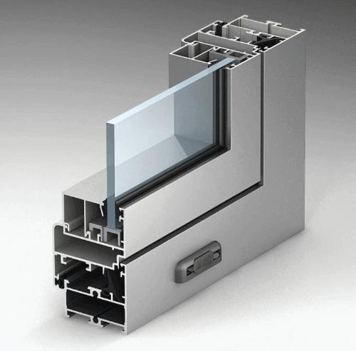 Окно из алюминиевого профиля