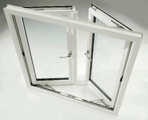 Окно из пластикового профиля
