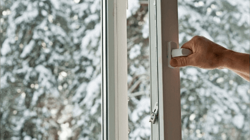 Устранение продувания в окнах
